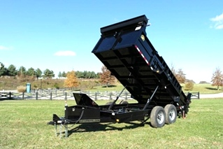 NEW 14FT 14000# DUMP TRAILER FOR SALE